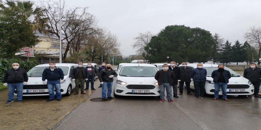 Büyükşehir'den İl Sağlık Müdürlüğü'ne personel ve araç desteği