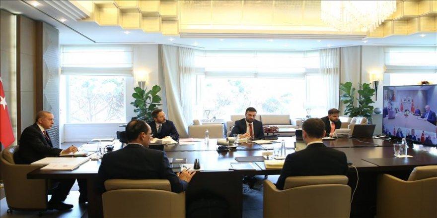 Cumhurbaşkanlığı Kabinesi Toplandı ! Erdoğan'ın açıklama yapması bekleniyor
