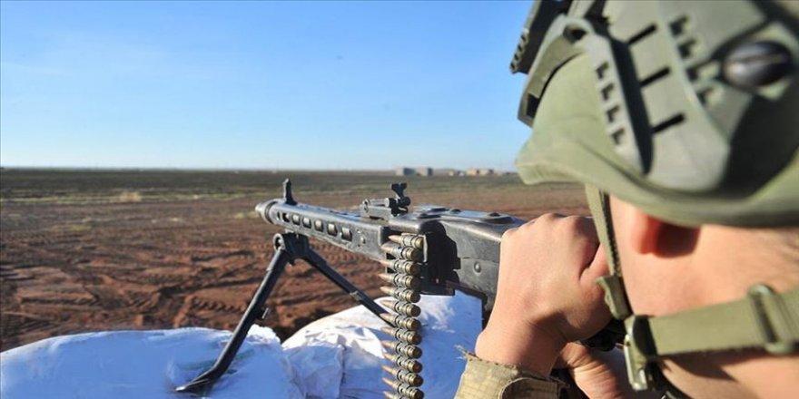Fırat Kalkanı ve Barış Pınarı Harekatı bölgelerinde 9 terörist etkisiz hale getirildi