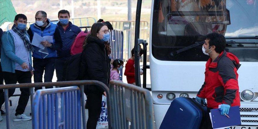 Bolu'da karantina süresi dolan 29 kişi evlerine gönderildi