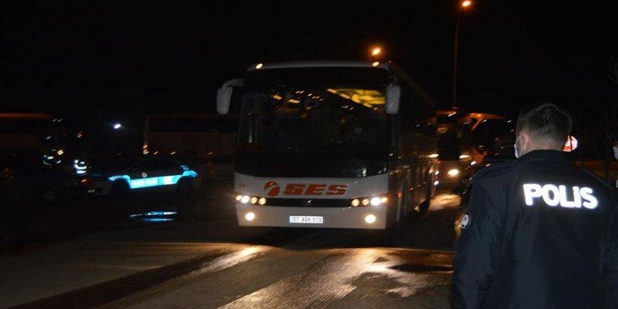 Yurt dışından gelen 511 kişi Kovid-19 tedbirleri kapsamında Afyonkarahisar'daki öğrenci yurduna yerleştirildi