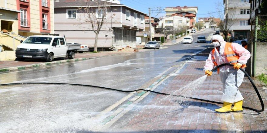 Çayırova, sokak sokak yıkanıyor