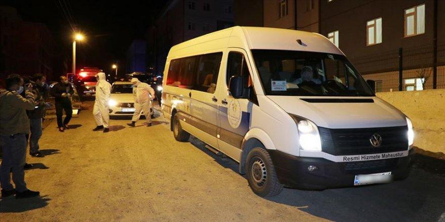 Irak'tan getirilen 17 Türk işçi Kütahya'da yurda yerleştirild