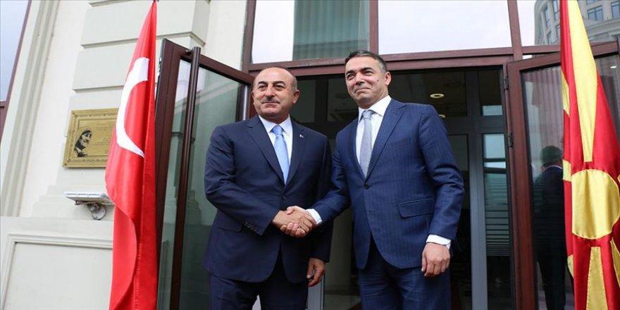 Çavuşoğlu'ndan, Kuzey Makedonyalı mevkidaşı Dimitrov'un teşekkürüne 'Yanınızdayız' yanıtı