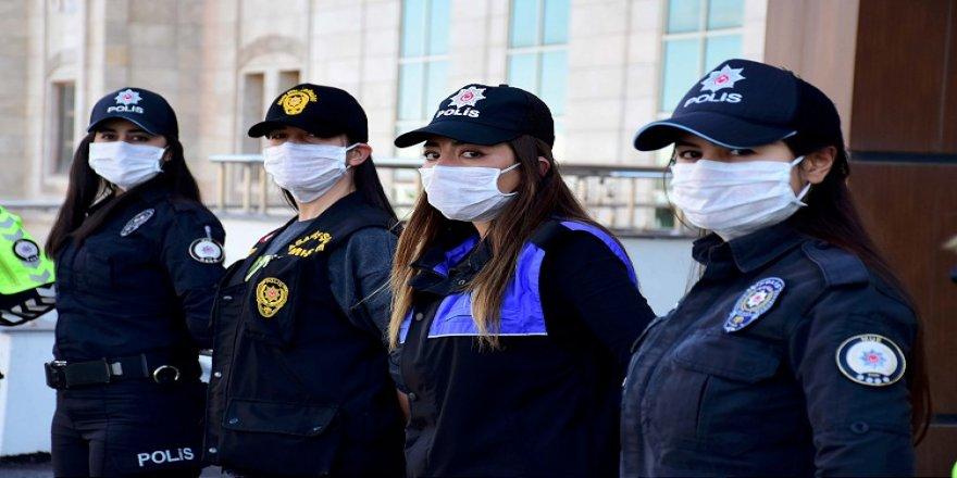 Emniyet teşkilatının göz bebeği kadın polisler suçlulara göz açtırmıyor