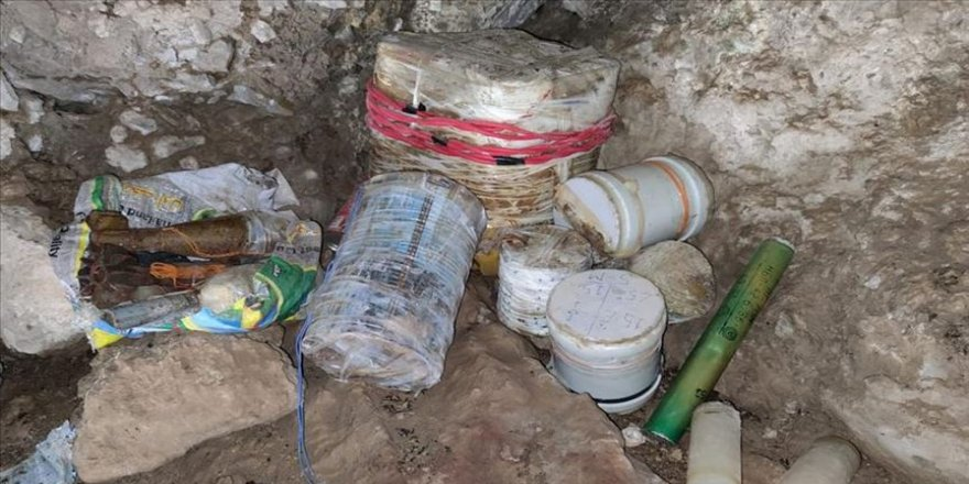 MSB: Pençe-3 bölgesinde 20 el yapımı patlayıcı ele geçirildi
