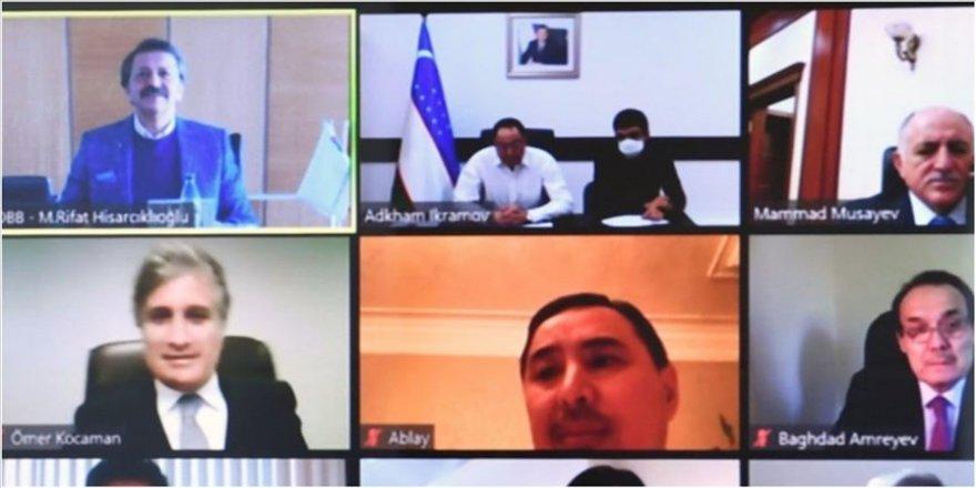 Türk Konseyi, ticaret ve sanayi odalarıyla 'Kovid-19' gündemli toplantı yaptı