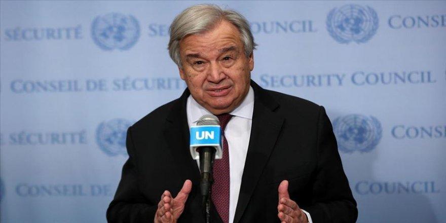 Guterres'ten BMGK'ye Kovid-19'a karşı birlik ve mücadele çağrısı