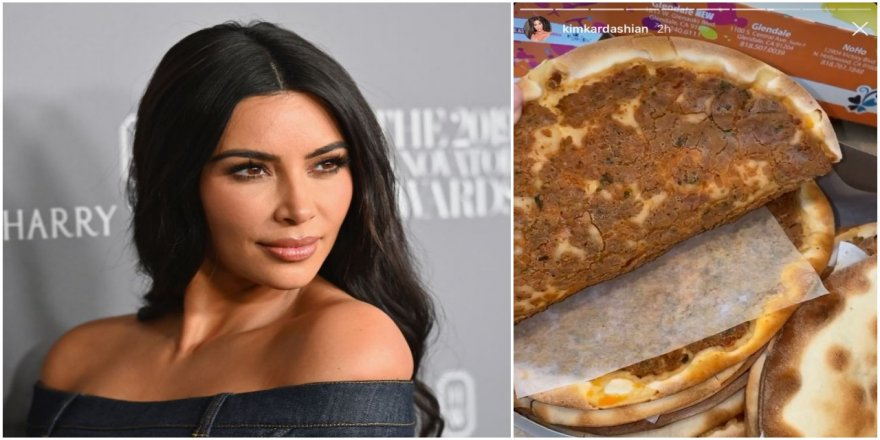 Nusret,lahmacuna Ermeni pizzası diyen Kim Kardashian'a gönderme yaptı
