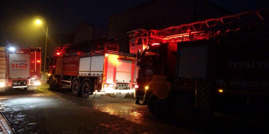 Dilovası'nda korkutan fabrika yangını !
