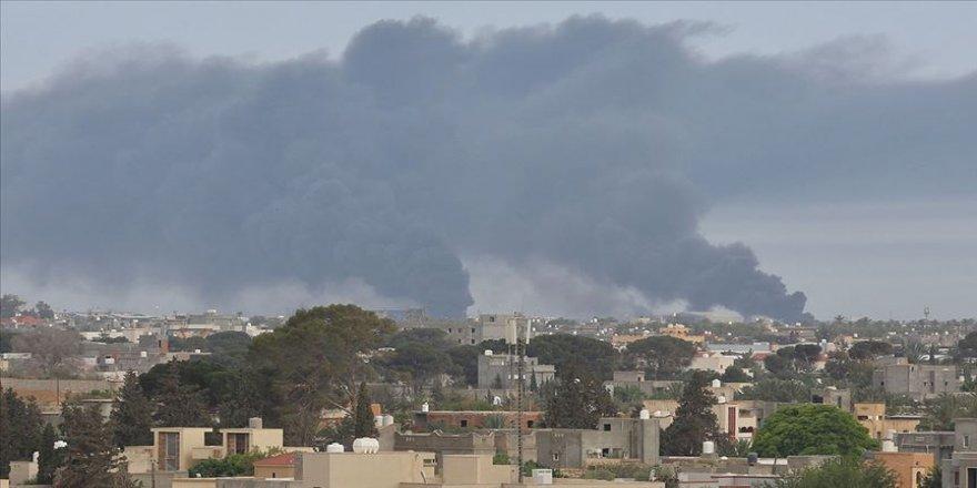 Hafter milisleri başkentin güneyinden çekilirken DEAŞ'ın mayın tuzaklama taktiğine başvurdu