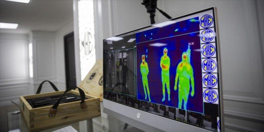 MKEK'den Kovid-19 salgınına termal kameralı takip