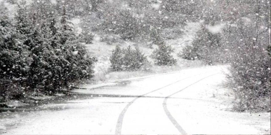 6 ilde kuvvetli kar yağışı bekleniyor ! Buzlanma ve dona dikkat !