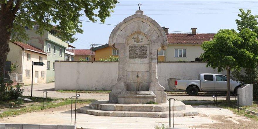 Sultan Reşad'ın yaptırdığı 111 yıllık çeşme restore edilip turizme kazandırılacak