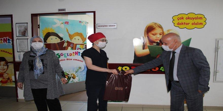 Darıca Farabi Eğitim ve Araştırma Hastanesinde Bayramlaşma Sevinci