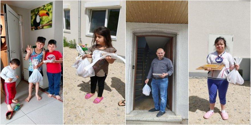 Almanya'da DİTİB camisinden mültecilere bayram ikramı