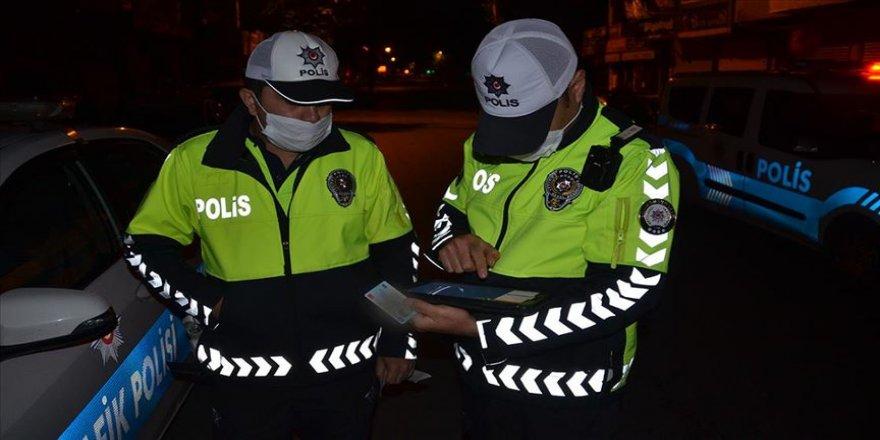 Polisin 'dur' ihtarına uymayınca 11 bin 332 lira ceza verildi