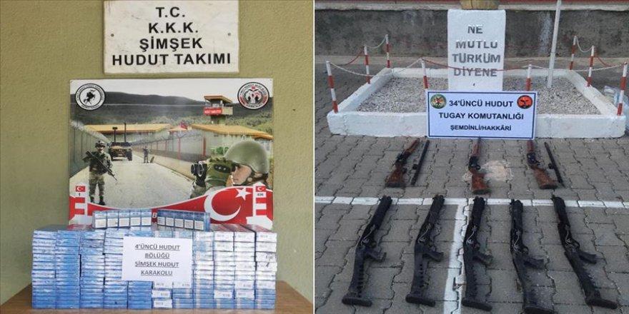 Hudut birliklerinden terörün finansman kaynaklarına darbe