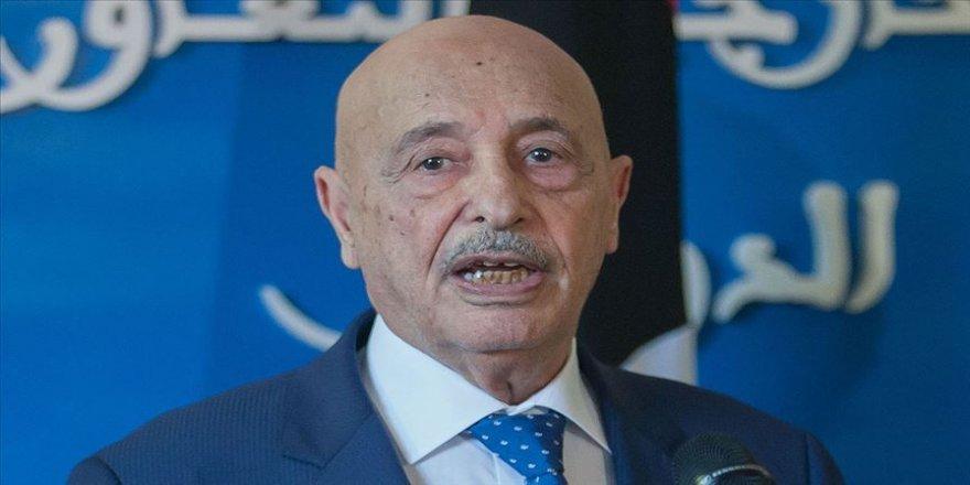 Libya'da Hafter yanlısı Temsilciler Meclisi Başkanı, doğudaki isyancı güçlerin komutanlarıyla görüştü