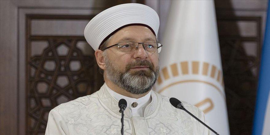 Diyanet İşleri Başkanı Erbaş: Belki daha sonraki haftalarda Sultan Ahmet Camimizin avlusunda cuma namazı kılacağız