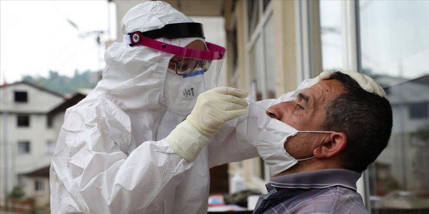 Rize'ye gelen çay üreticileri ve işçilerine Kovid-19 testi yapılıyor