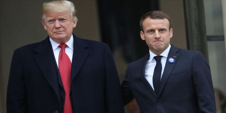 Trump ve Macron G-7 Liderler Zirvesi'nin yüz yüze yapılmasını istiyor