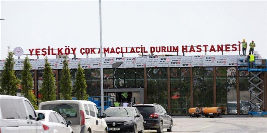 Yeşilköy Acil Durum Hastanesi'nin yapım hikayesi TRT Belgesel'de ekranlara gelecek