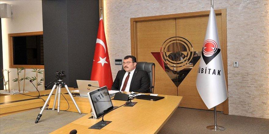 TÜBİTAK Başkanı Mandal, Kovid-19'a karşı uluslararası iş birliği toplantısına katıldı