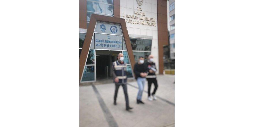 Gebze 'de,15 Yıl Ağır Hapis Cezasından aranan şahıs yakalandı