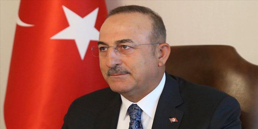 Çavuşoğlu Mogherini'yi yeni görevi dolayısıyla tebrik etti