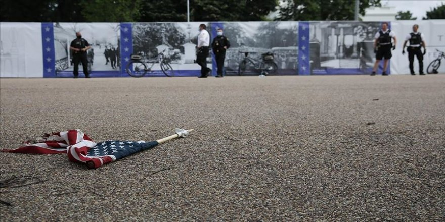 Detroit'te protestoculara arazi aracından ateş açıldı: 1 ölü