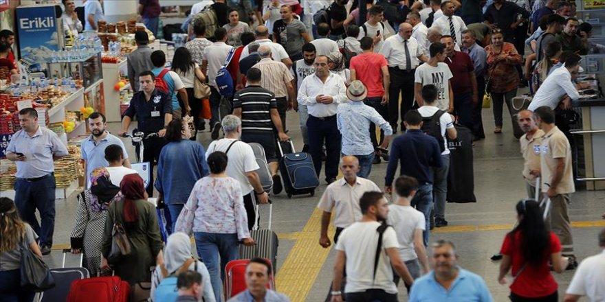Şehirler arası seyahatte rekor beklentisi