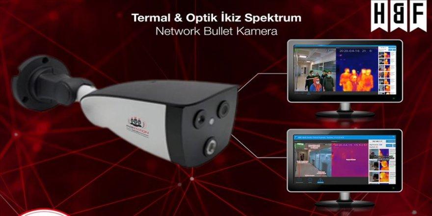 Ateş ölçen yerli termal kameralar yurt dışına ihraç ediliyor