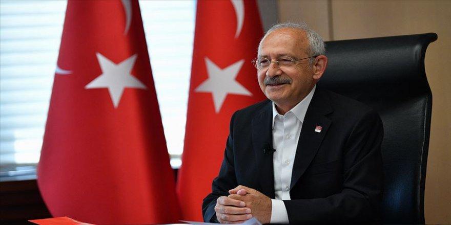 Kılıçdaroğlu video konferans yöntemiyle görüştüğü çocuklarla sohbet etti