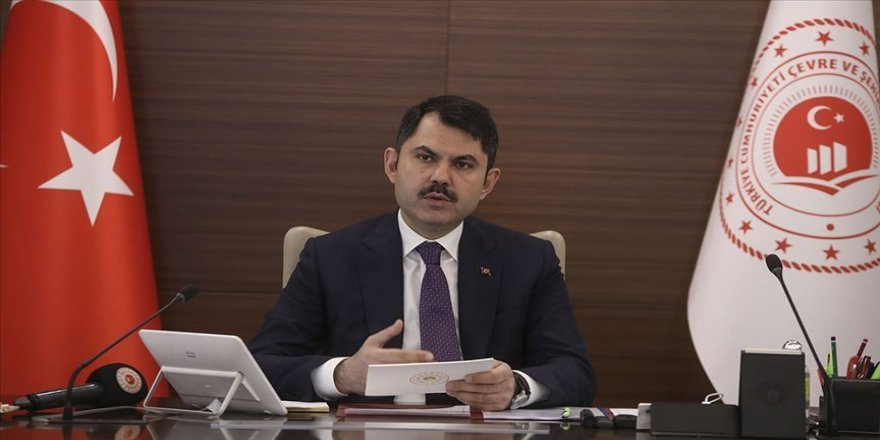 Bakan Kurum: Elazığ'da yaklaşık 19 bin 300 bağımsız bölümden oluşan konut çalışmasını başlattık