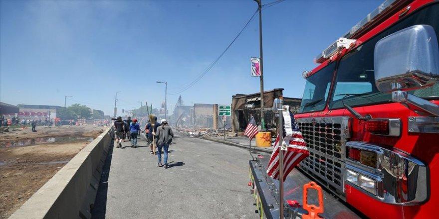 Minneapolis'te protestoların dördüncü gününde önlemler artırıldı