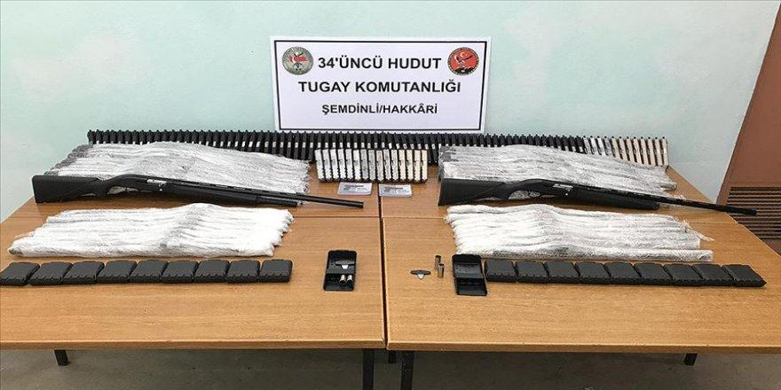 MSB: Hudut hatlarında çok sayıda silah ve gümrük kaçağı sigara ele geçirildi
