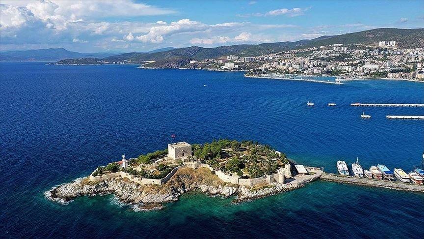 Barbaros Hayrettin Paşa'nın mirası kale Kuşadası'nın tanıtım yüzü olacak