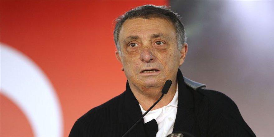 Beşiktaş Kulübü Başkanı Çebi: İki buçuk ayda 166 milyon lira gelirden mahrum kaldık
