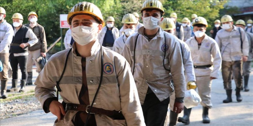 Türkiye Taşkömrü Kurumu yeniden üretime başladı
