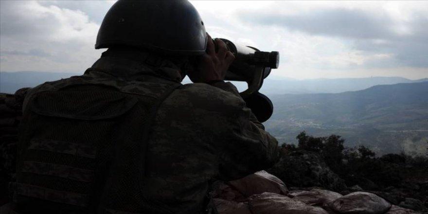 Barış Pınarı bölgesine sızma hazırlığındaki 2 terörist etkisiz hale getirildi