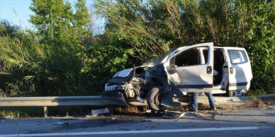 Türkiye'de geçen yıl trafik kazası sayısı yüzde 4,9 azaldı