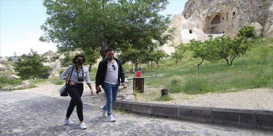Kapadokya'daki müze ve ören yerleri ziyarete açıldı