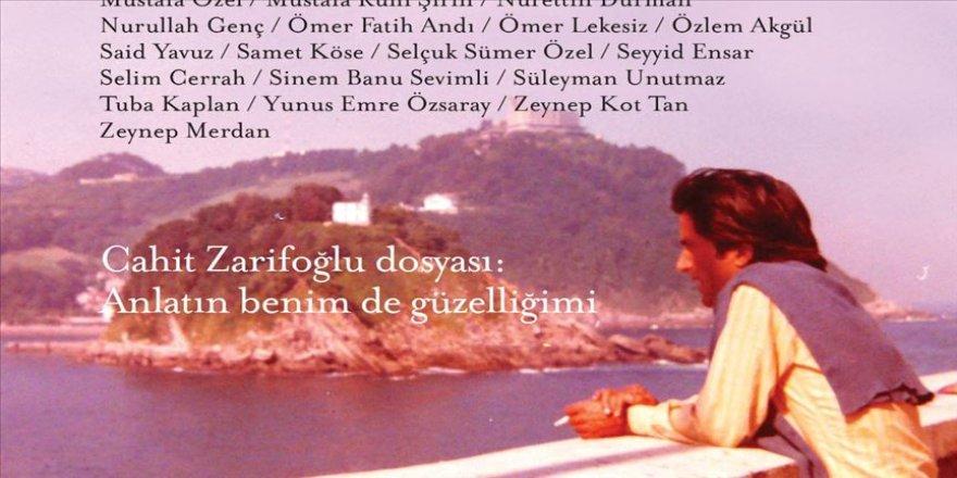 'Muhit'ten edebiyat tarihine ışık tutacak belgelerle Cahit Zarifoğlu dosyası