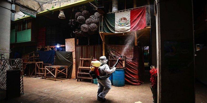 Kovid-19 nedeniyle son 24 saatte Brezilya'da 623 Meksika'da 237 kişi öldü