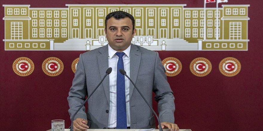 HDP'li Ömer Öcalan Şanlıurfalı fıstık üreticilerine destek istedi