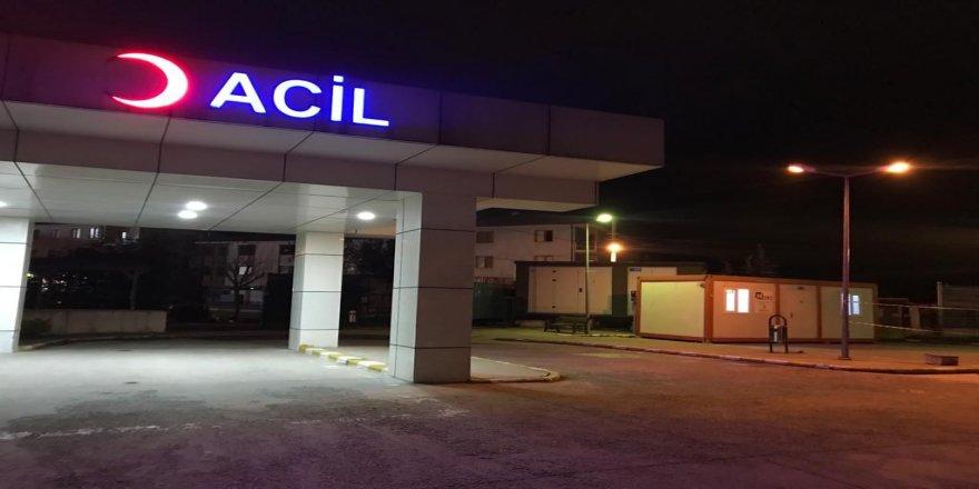 Kocaeli' TEM Otoyolu'nda  trafik kazası