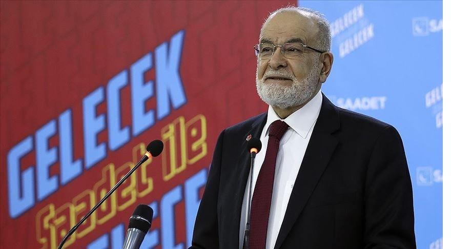 Saadet Partisi Genel Başkanı Karamollaoğlu: Türkiye'de salgın az zararla geçirildi