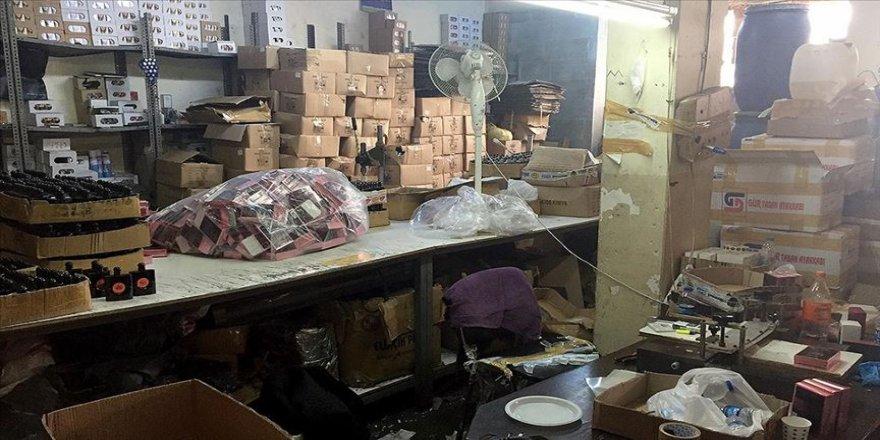 İstanbul'da 1 milyon şişe sahte parfüm ele geçirildi