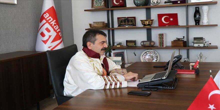 Ankara Hacı Bayram Veli Üniversitesi dijital ortamda mezuniyet töreni düzenledi